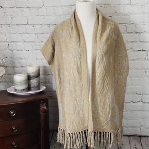 Angel of the North silver and gold Cardigan